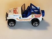 Hot Wheels 1997 Action News Jeep Off Road Reporter
