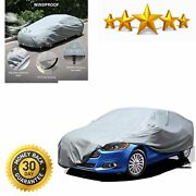 Car Cover Uv Protection Basic Guard 3 Layer Breathable Dust Proof Universal Fit