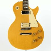 1977 Gibson Les Paul Deluxe Natural W/ Original Protector Chainsaw Case - Tom Sc