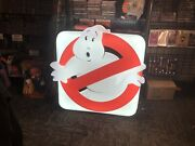 Ghostbusters Hollywood Collectibles Lim Edition Light Up Firehouse Sign 38/500