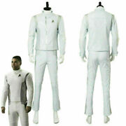 Star Trek Discovery Dr. Nambue Cosplay Costume White Medic Officer Suit Unifor