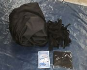 Covermate Imperial Pro Fish And Ski Boat Cover 16and0395 Max. Length Black 1859