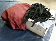 Covermate Imperial Pro V-hull I/o Boat Cover 22and0395 Max. Length Cranberry 1864