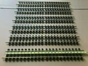 Lgb G Scale Brass Train Track - Lot Of 6 Pieces 600 Mm And 2 Pieces 300 Mm - New