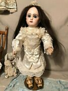 Tandecircte Jumeau Closed Mouth Bisque Doll Size 55 Cm Perfect Head