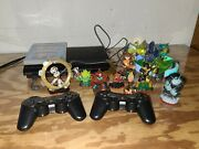 Ps3 Super Slim Cech-4301a 12gb With Skylanders Trap Team Starter Set And Extras