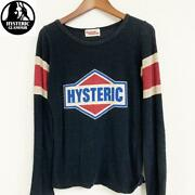 Hysteric Glamour Long Sleeves T-shirt Womenand039s Tops Free Size Clothes Fashion