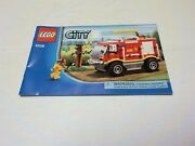 Lego 4208 Instruction Manual Only For 4x4 Fire Truck City