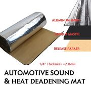Sound Deadening Material Vehicles Heat And Noise Reduces Thermal Blocker 65x39