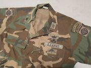 Idand039d Us Army Bdu Aircrew Woodland Uniform Special Forces Colonel General Gwot