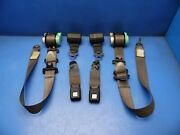 80-83 Honda Civic Oem Front And Rear Seat Belts Set Stock Factory