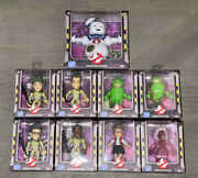 Ghostbusters Loyal Subjects Lot Of 9 Sdcc Stay Puft, Slimer, Egon, Chase Ghost+