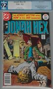 Jonah Hex 1 Pgx 9.2- 1977 Dc Western-white Pages