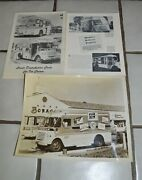 8 X10 Vintage Photo Elsie The Cow Ice Cream Truck And Bordens Truck Brochures