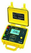 Aemc 4630 4-point Ground Resistance Tester Rechargeable Battery 2000 Ohms...