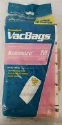 Vacuum Bags For Kenmore M 7 Pack Magic Blue Canisters, 51195