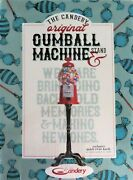 The Candery Original Gumball Machine 39 With Stand