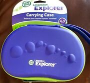 Leapfrog Leapster Explorer Carrying Case. Zippered Purple And Green. New