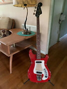 Vintage 1966 Hagstrom 1 Bass - Made In Sweden - Bowie