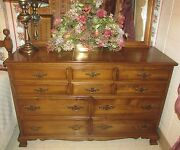 Kling Colonial Williamstown Double Dresser Maple Wood 30 5112 Made In The Usa