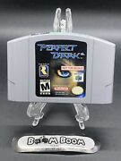 Perfect Dark N64 Nfr Not For Resale Nintendo 64 Cart Video Games Rare