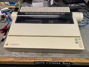 Apple Imagewriter Ii Vintage With Box With Cables Tested, No Ink
