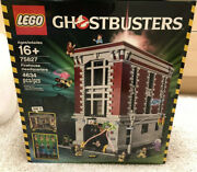 New Factory Sealed Lego 75827 Ghostbusters Firehouse Headquarters -ready To Ship