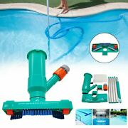 Vacuum Cleaner Swimming Pool Cleaning Tool Pond Spa Suction Head Brush Cleaner