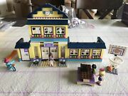 Lego Friends 41005 Heartlake High School Complete Set Manuals Fast Free Shipping
