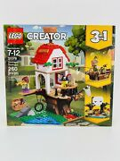 Lego 31078 Creator Treehouse Treasures 260 Pieces Pirate Ship Skull Cave New