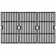 Cast Iron Cooking Grid Grates 3-pack 16 4/9 For Kenmore Dyna Glo Backyard Grill