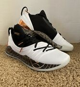 """Under Armour Curry 5 """"copper"""" Size 13 3021708-101 Basketball Shoes"""