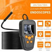 2.4 1080p Wifi Endoscope Cable Borescope Inspection 8mm Camera Ip68 Ios Android