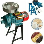 Wetanddry Electric Feed Mill Grinder Grain Crusher Corn Cereal Pulverizer Machine