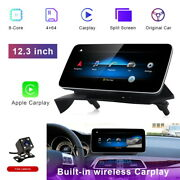 For Mercedes Benz C Class W204 2011-14 12.3 Touch Screen Car Gps Stereo Player