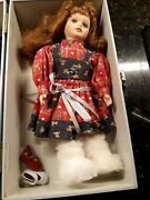 Lasting Impressions 12 Doll Companion Collection In Carrying Case W/extra Dress