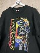 Vtg 91 Ghost Rider Mcfarlane Marvel Comic Images Graphic Promo Tee Shirt Size Xl