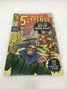 Tales Of Suspense 48 Marvel 1963 First Red And Gold Armor Higher Grade