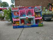 Fisher-price Little People Big Helpers Interactive Home Playset Emma And Jack Pink