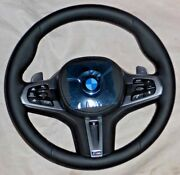 Bmw G30 G31 G32 G38 5 And 6 M Sport Leather Steering Wheel Heated Sport Auto New