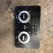 Guest Black Dual Battery Selector Switches Model 2111 Panel