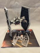 Lego 9492 Star Wars Tie Fighter With Minifigures And Directions 100 Complete