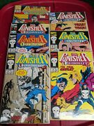The Punisher Eurohit Series 1-7 Comic Book 1992 Marvel