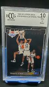 1992-93 Upper Deck Shaquille O'neal Rookie 1b Trade Card Bccg 10 Mint