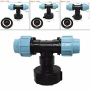 Water Pipe Connector Garden Lawn Hose Ibc Adapter 3 Way Outlet Tap Fitting Tool