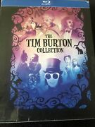 The Tim Burton Collection Blu-ray, 7-disc Set With Book Brand New / Sealed