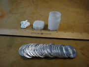 Sunshine Mint Roll Of 1/2 Oz Silver Rounds 20 Rounds Total - 10 Ounces Silver