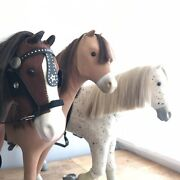 American Girl Horse Retired Chestnut Picasso And Prancing