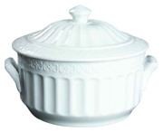 Waterford China Grafton Street Round Casserole Covered New