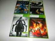 Lot Of 4 Xbox 360 Games James Cameron's Avatar The Game + 3 More See And Read